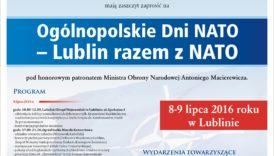Czytaj więcej o: Ogólnopolskie Dni NATO – Lublin razem z NATO