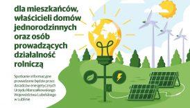 """Czytaj więcej o: """"Mój prąd"""" """" Agroenergia"""" """" Czyste powietrze"""" – spotkanie informacyjne"""