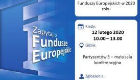 Czytaj więcej o: Założenie działalności gospodarczej przy wsparciu Funduszy Europejskich w 2020 roku.