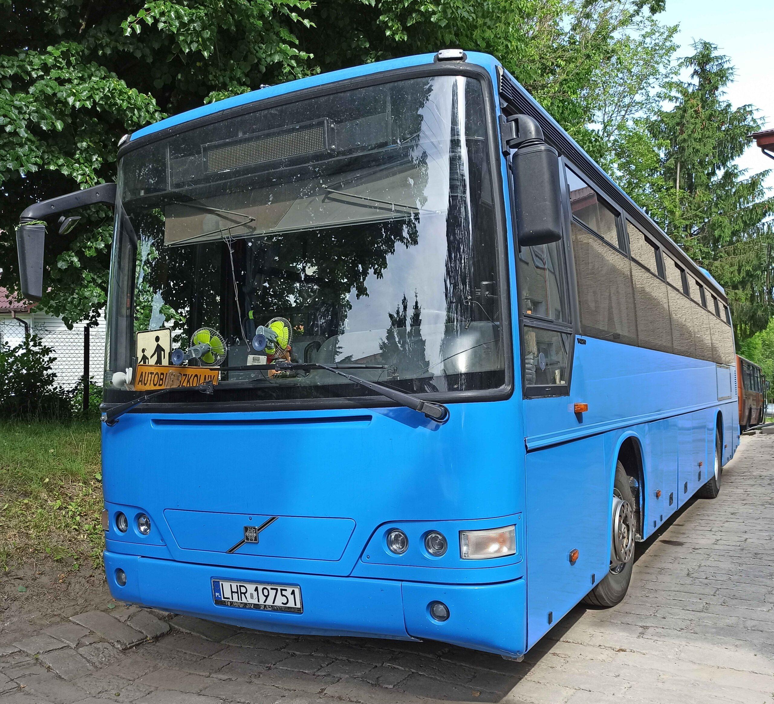 Czytaj więcej o: Ogłoszenie! Sprzedaż autobusu Volvo B10B