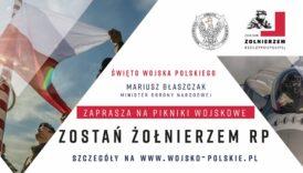 Czytaj więcej o: Zaproszenie – Piknik Wojskowy